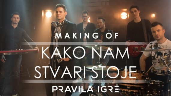 "Making of ""Kako nam stvari stoje"" (Behind the scenes) - Pravila Igre"